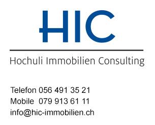 Logo und Kontaktinfo